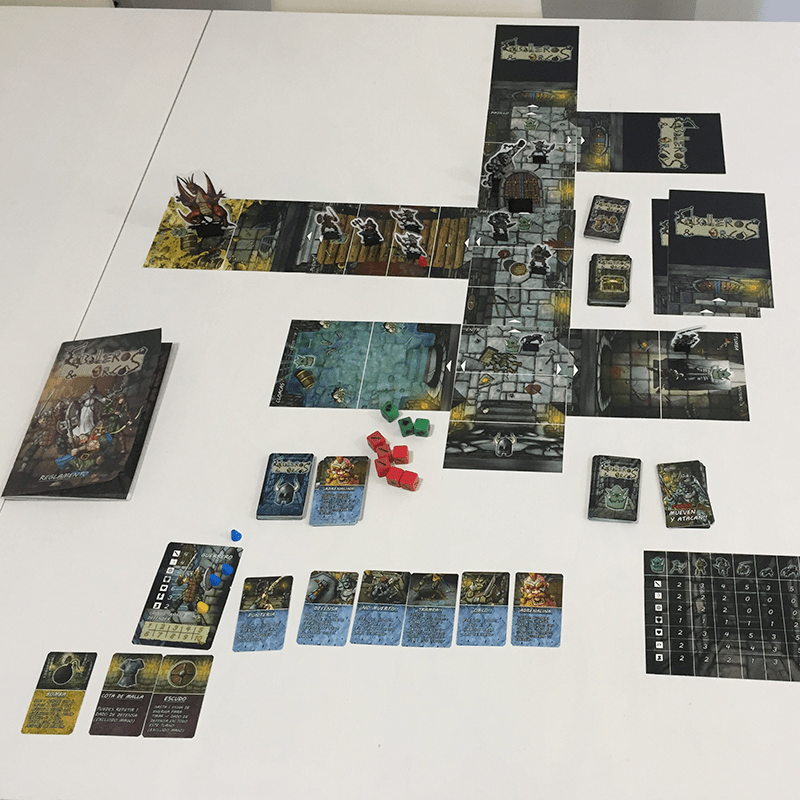 Dungeon-lite-Orcos-y-Caballeros